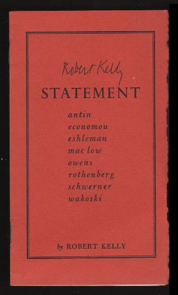 Statement. Robert Kelly