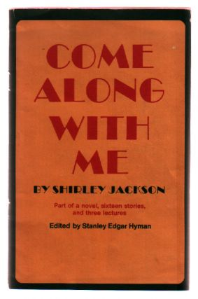 Come Along With Me. Shirley Jackson