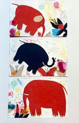 Elephant Triptych : Something Like Cottages With the Roofs Taken Off : Sketch for Through the...